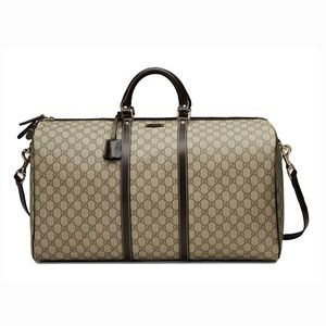 New Gucci 206500 Large Carry-On Duffle Bag
